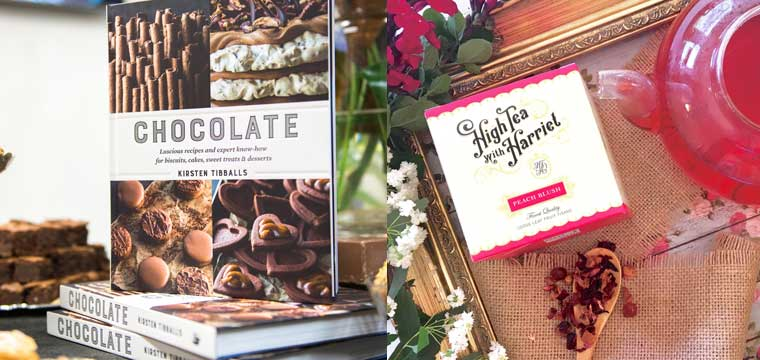 Chocolate by Kirsten Tibballs & tea from High Tea with Harriett