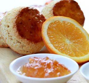 Orange Flavoured Scones