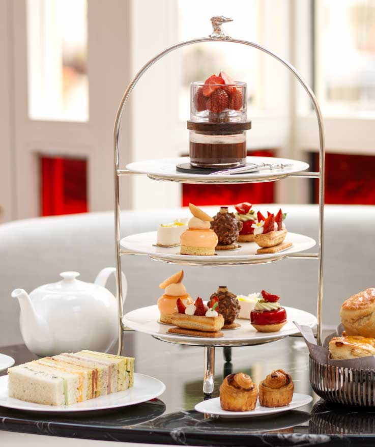Afternoon Tea at The Connaught Hotel, London