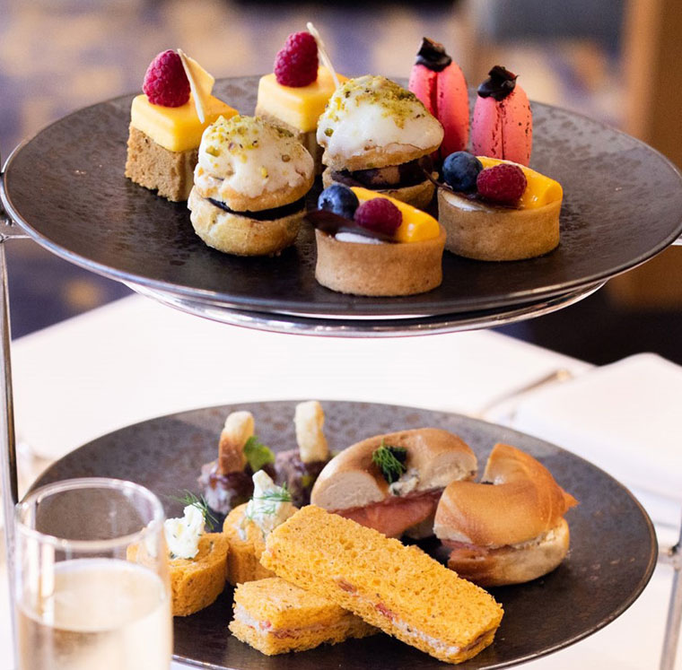 High Tea at Montereys Brasserie, Pan Pacific Perth - supplied photo